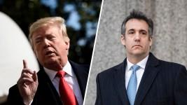 Trump Blames Lawyer Michael Cohen for Hush Money 'Liability'