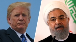 Trump Warns Iranian President Against Threatening US
