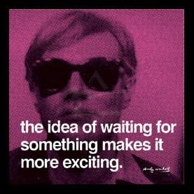 "Andy Warhol: ""Waiting"""