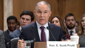 Sanders, Booker Question Trump EPA Pick Pruitt