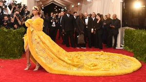 Rihanna's Train Steals the Show at Met Gala