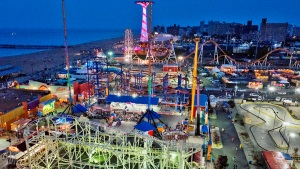 Stunning Images Capture Coney Island After Sundown