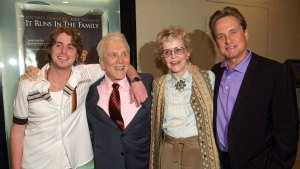 Diana Douglas, Mother of Michael Douglas, Dies at 92