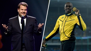 Not The Race Of The Century: Usain Bolt Runs Against Corden