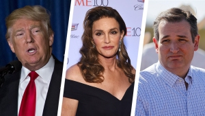 Caitlyn Jenner Uses Trump Bathroom; Slams Ted Cruz