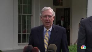 McConnell: 'We're Not Quite There' on Health Care Bill
