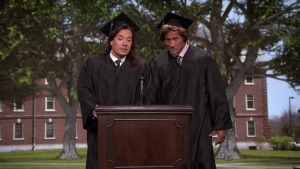 Jimmy Fallon, Dwayne Johnson's Commencement Speech