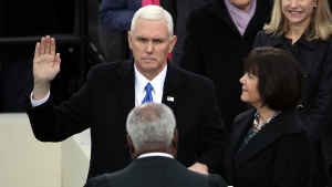 Mike Pence Sworn in as Vice President