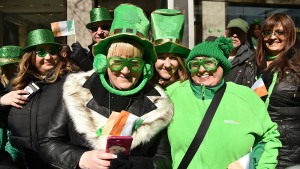 Revelers Flock to NYC for St. Patrick's Day Parade