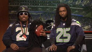 """SNL"" Satirizes Seahawks and ""SnowMageddon"""