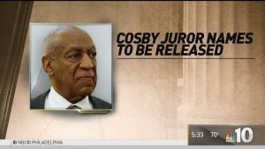 Judge to Release Names of Cosby Jurors