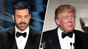 Trump on the Mind at Oscars in Jokes, Protest, Twitter <br />