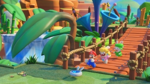 Mario Gets Help in 'Mario+Rabbids: Kingdom Battle' Game
