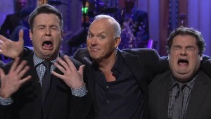 """It's Showtime!"" as Michael Keaton Hosts ""SNL"""