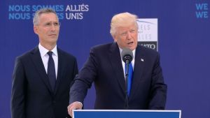 Trump Demands NATO Allies Pay More at Brussels Summit