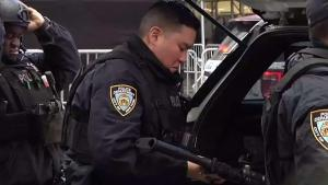NYPD Preps for New Year Ball Drop in Times Square