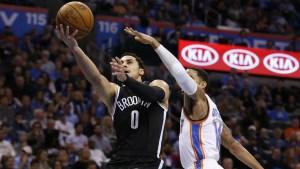 Oklahoma City Beats Nets 110-99