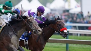 Nyquist Loses for 1st Time, Finishing 3rd in Preakness