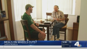 Purple Heart Vet Receives Meals on Wheels
