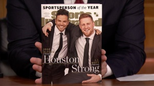 'Tonight': JJ Watt Is SI's 2017 Sportsperson of the Year