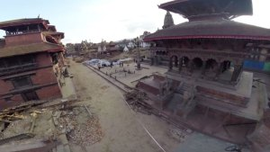 WATCH: Aerial View of Nepal's Earthquake Aftermath