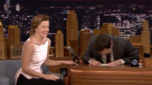 Emma Watson Remembers When She Mistook Fallon for Kimmel