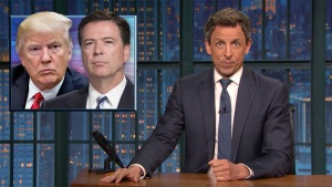 'Late Night': Closer Look at Comey's Memo About Trump