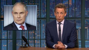 'Late Night': Checking in With Trump's EPA