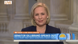 Gillibrand Confirms She Saw Trump Tweet as Sexual Reference