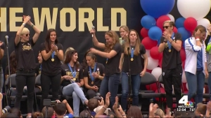 NYC to Hold Ticker-Tape Parade for Women's World Cup Champs