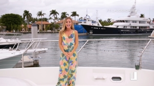 Winter Escape: Maria On Scene in Ft. Lauderdale