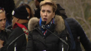 Scarlett Johansson Touts Planned Parenthood at DC Rally