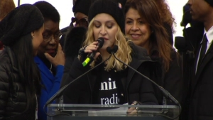 Madonna at DC Women's March: 'Good Will Win in the End'