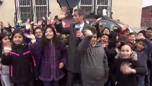 Weather Kids: Storm Team 4 Visits P.S. 145 in Brooklyn