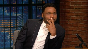 'Late Night': Anthony Anderson on Playing Golf With Obama