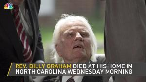Billy Graham Dead, Age 99
