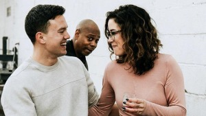 Dave Chappelle Photobombs Couple's Engagement Shoot