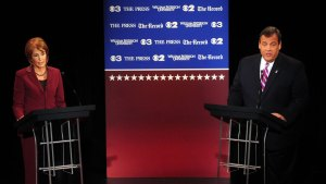 Sparks Fly in First NJ Governor's Race Debate