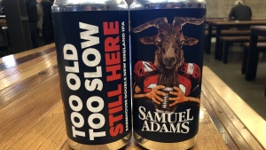Sam Adams Releases New Tom Brady GOAT-Themed Beer