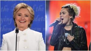 Cyrus To Campaign Door-to-Door for Clinton in Northern Va.