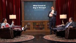Jared Leto Battles Jimmy Fallon on Puppy Quiz