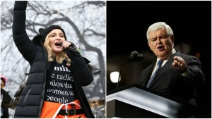 Gingrich Says Madonna Should Be Jailed for Rally Comments