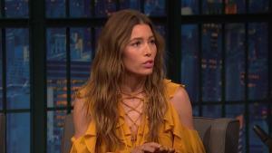 'Late Night': Jessica Biel Talks About Season Two of 'The Sinner'