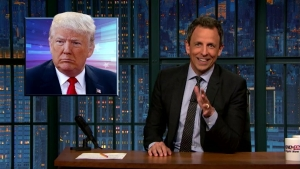 'Late Night' Look at Trump's Reinvention Plan