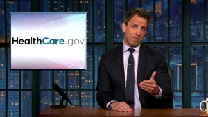 'Late Night': Trump's Obamacare Fail