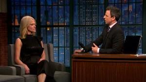 'Late Night': Kellyanne Conway Talks Russian Hacking, Trump