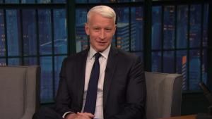 'Late Night': Cooper's Mom Bugged Him During Hurricane Irma