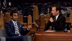 'Tonight': Aziz Ansari on Khan-Trump Feud