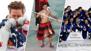 Shirtless Tongan, Halfpipe Debut: Olympics' Viral Moments