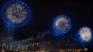 'It's Thundering': Most Unique July 4 Fireworks View